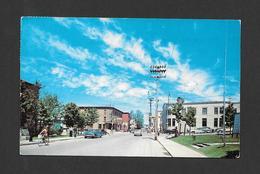 THETFORD MINES - QUÉBEC - ANGLE DES RUES NOTRE DAME ET ST ALPHONSE - PHOTO J.L. FRÉCHETTE - PAR UNIC - Québec - Sainte-Foy-Sillery
