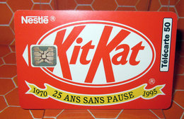 TELECARTE 50 KIT KAT - Francia