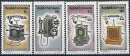 1984 BOPHUTHASWANA Afrique Sud 125-28** Téléphones IV - Bophuthatswana