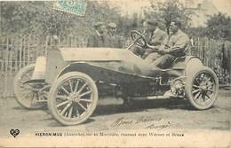 Themes Div-ref X411- Voitures - Automobile - Hieronimus - Autriche -austria -sur Sa Mercedes Avec Warner Et Braun - Cartes Postales