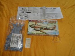 MAQUETTE A MONTER SOI MEME. / AIRFIX DOUGLAS AC-47 GUNSHIP 1/72 MODEL REDUIT. POCHETTE NON  OUVERTE - Airplanes