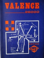 3 Guides Touristiques-carte VALENCE-SUR-RHÔNE (Drôme) 1938-1960 - Rhône-Alpes