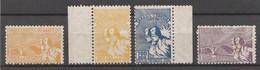 BRESIL 1935 - Yvert N° 279 à 282 - Série Complète ** Et * - 4 Valeurs (Visita Do Presidente Terra) - Unused Stamps