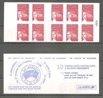 CARNET LUQUET 2001. Y&T N° 3419-C1** Neuf De Guichet > 10 TVP Rouge RF.Type II. TB - Carnets