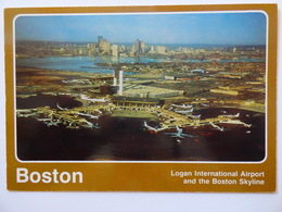 AIRPORT / FLUGHAFEN / AEROPORT     BOSTON LOGAN  INTERNATIONAL - Aerodromi