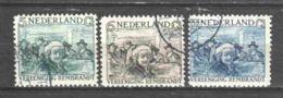 Netherlands 1930 NVPH 229-231 Canceled (5) - Gebruikt