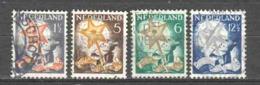 Netherlands 1933 NVPH 261-264 Canceled (7) - Gebruikt