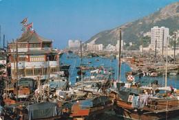 CHINE. HONG KONG. FLOATING POPULATION. ANNEE 1987 - Cina