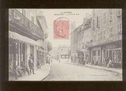 19 Beaulieu La Grand'rue édit. Baudel Café Berthou  Magasin Mery - Sonstige Gemeinden