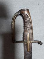 Ancien Sabre Revolution Francaise Vers 1798-1800,old Sword, Alte Säbel XVIII - Knives/Swords