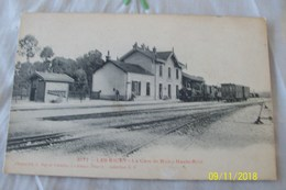 Cpa:LES RICEY La Gare De Ricey-Haute-Rive - Les Riceys