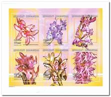 Madagaskar 2001, Postfris MNH, Flowers, Orchids - Madagaskar (1960-...)