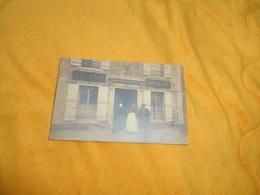 CARTE POSTALE PHOTO ANCIENNE CIRCULEE DE 1905. / CAFE DU JARD.- H. PARANT. / CACHETS AY MARNE + TIMBRES... - Photos