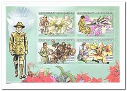 Madagaskar 1999, Postfris MNH, Scouting, Flowers, Orchids - Madagaskar (1960-...)