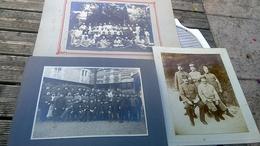 3 Photos D époque Guerre 14 18 Hopital Militaire N 76a Auxerre - Guerre, Militaire