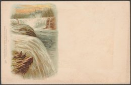 American Side, Niagara Falls, New York, 1901 - Tuck's U/B Postcard - NY - New York