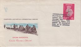 Argentina 1963 Cover For Shipping By Ship Gral. San Martin (+letter) (40494) - Poolshepen & Ijsbrekers