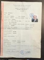PASSEPORT PASSPORT  REISEPASS  ITALIA   RAPUBBLICA ITALIANA  MINISTERO DELL'INTERNO - Historical Documents