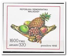 Madagaskar 1992, Postfris MNH, Fruit - Madagaskar (1960-...)