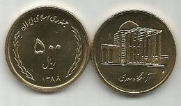 500 Rial Rials 2009. High Grade - Iran
