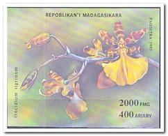 Madagaskar 1993, Postfris MNH, Flowers, Orchids - Madagaskar (1960-...)