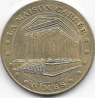 MEDAILLE TOURISTIQUE MONNAIE DE PARIS GARD NIMES MAISON CARREE 2010 - Monnaie De Paris