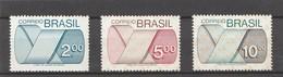 BRESIL 1974 - Yvert N° 1128 à 1130* - Série Complète - Ungebraucht