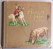 ALBUM RACCOGLITORE FIGURINE LIEBIG  Originale D'epoca Primi 900 - Album & Cataloghi
