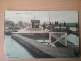 Lesdins          Ecluse             (peniche Schiffe Arken )  Ghislain - Péniches