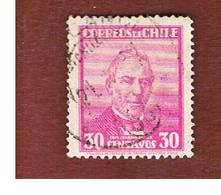 CILE (CHILE)  - SG 233 -  1931 PEREZ    -  USED ° - Chile