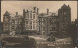 Queen Victoria Convalescent Home, Bristol, 1918 - Viner & Co RP Postcard - Bristol