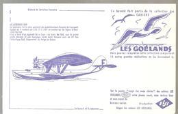 Buvard Aviation Française Collection Des Cahiers Les Goélands N°5 Le Latecoere 300 - Transport