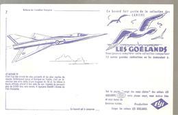 Buvard Aviation Française Collection Des Cahiers Les Goélands N°7 Le Mirage IV - Transport