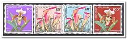 Madagaskar 1973, Postfris MNH, Flowers, Orchids - Madagaskar (1960-...)