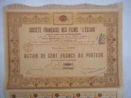 Francaise Des FILMS L'ECLAIR       PARNALAND               1908 - Film En Theater