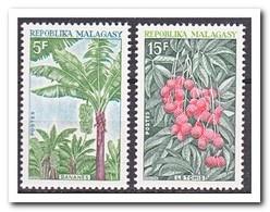Madagaskar 1969, Postfris MNH, Fruit, Trees - Madagaskar (1960-...)
