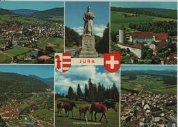 Jura - Delemont, Porrentruy, St. Ursanne, Franches Montagnes, Saignelegier - Photo: A. Deriaz - JU Jura