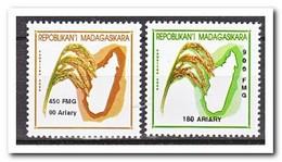 Madagaskar 2001, Postfris MNH, Rice, Plants, Food - Madagaskar (1960-...)