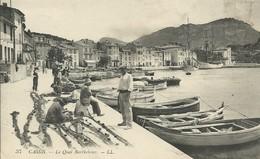 13)   CASSIS LE QUAI BARTHELEMY  ( Pêcheurs  ) - Cassis