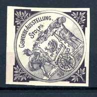 Allemagne  Cinderella   Gewerbe Ausst. Stolp   1896 - Autres