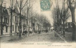11)  CASTELNAUDARY  - Cours De La République - Castelnaudary