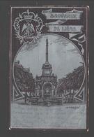 Liège - Souvenir De Liège - Le Perron - 1900 - Dos Simple - Aspect Métallisé - Liege