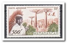 Madagaskar 1952, Postfris MNH, Trees, Birds - Madagaskar (1960-...)