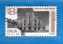 Italia ° -  2016 - Piazze D'Italia - Piazza Del DUOMO.  MILANO. € 2,55   Vedi Descrizione. - 6. 1946-.. Repubblica