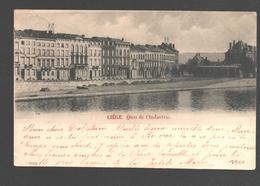 Liège - Quai De L'Industrie - 1900 - Dos Simple - Luik