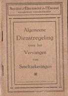 Societe D'Electricite De L'Escaut  Antwerpen - Sachbücher
