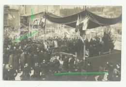 CORBEILcarte Photo POSE PREMIERE PIERRE HOTEL DE VILLE Le 27 Mars 1904 - Corbeil Essonnes