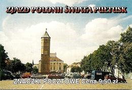 POLAND / POLEN, CIECHANÓW POST OFICE, 2001,  Booklet 61b - Carnets