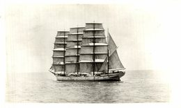 RPPC  HOUGOMONT    BARCO BOAT Voilier - Velero Sailboat Navire A Voile - Sailing Vessels