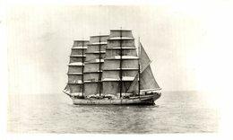 RPPC  HOUGOMONT    BARCO BOAT Voilier - Velero Sailboat Navire A Voile - Veleros